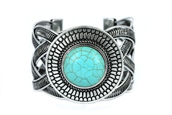 amerindien-turquoise