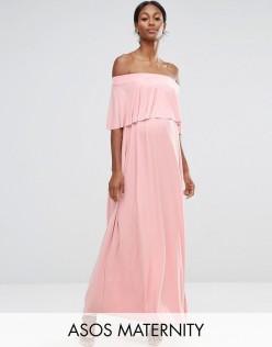Maternity robe longue