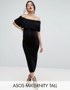 Maternity robe noire